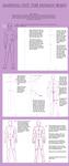 - Mapping human body tut - by odduckoasis