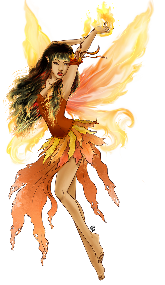 - fire fairy - by odduckoasis on DeviantArt