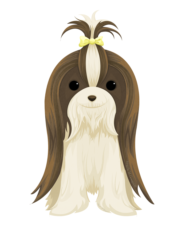 Shih Tzu By Scribalwriter On Deviantart