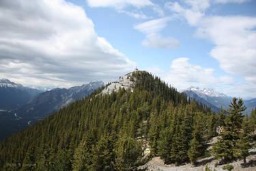 Sulphur Mountain by ScribalWriter
