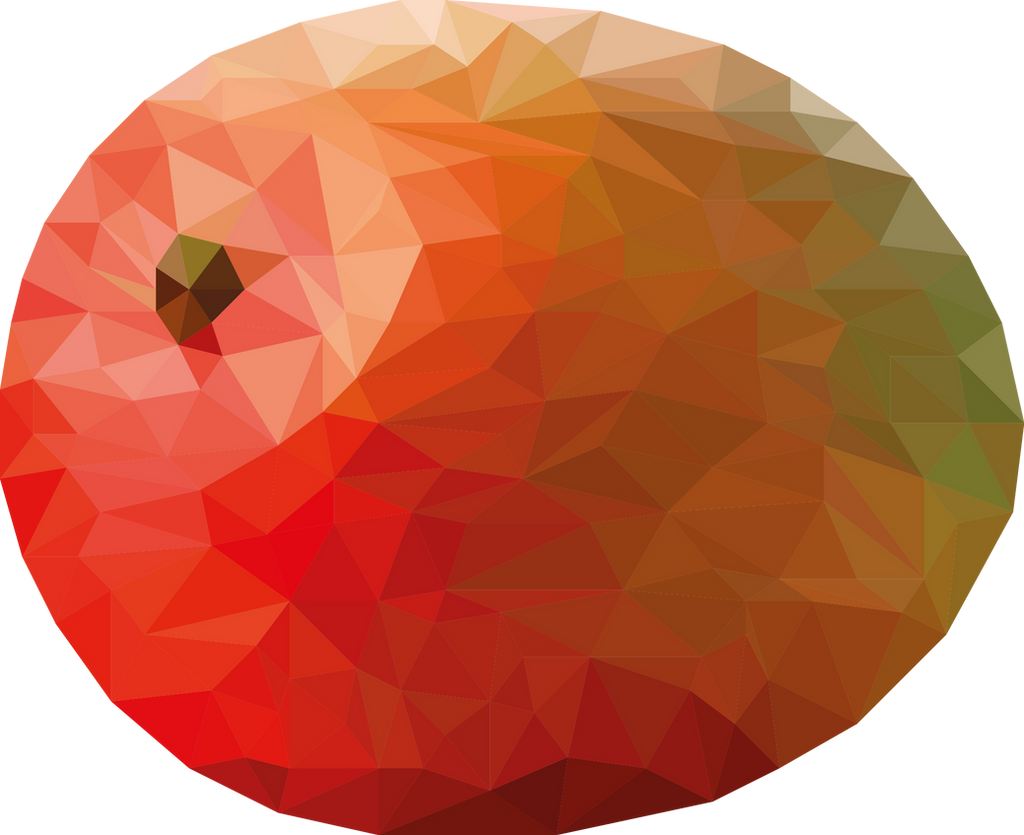 mango lowpoly by oddkh1