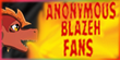 AnonymousBlazehFans icon contest entry by SuperSonicFireDragon