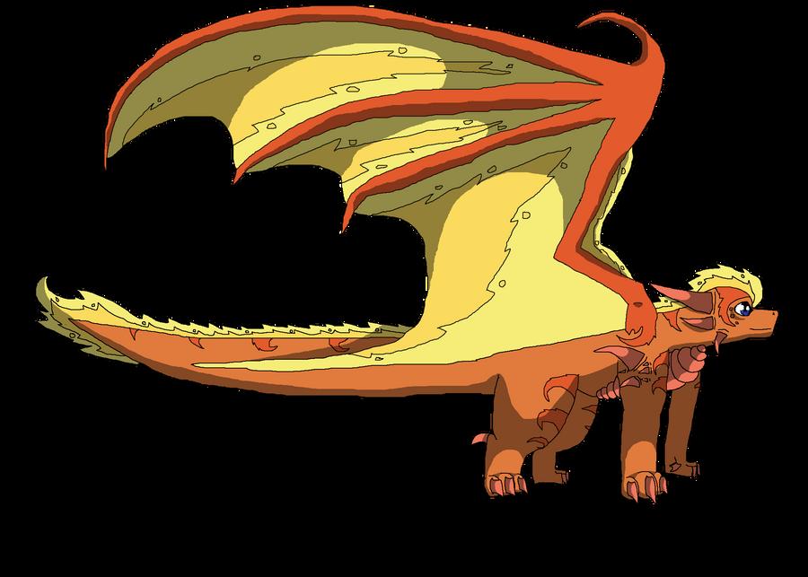 Jigoku the Dragon by SuperSonicFireDragon