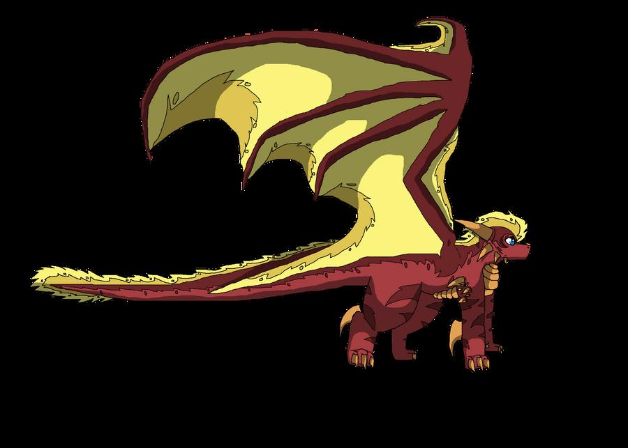 Akaiguro the Dragon by SuperSonicFireDragon