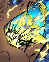 Zeraora Thunder Punch by XDeadDragonX98