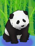 Baby Panda by XDeadDragonX98