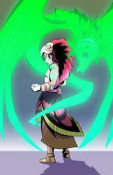 Aztec Warlock by XDeadDragonX98