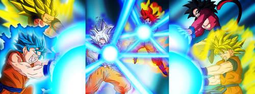 Goku posters by XDeadDragonX98