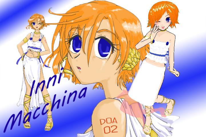First MMD model - Inni Macchina DOA 02 -