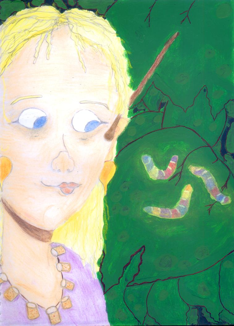 Luna found fairy larvae by tatihienahtf