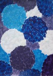 Hydrangea Cold Palette by tatihienahtf
