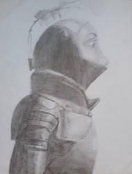 ASoIaF: Aegon II in armour by tatihienahtf
