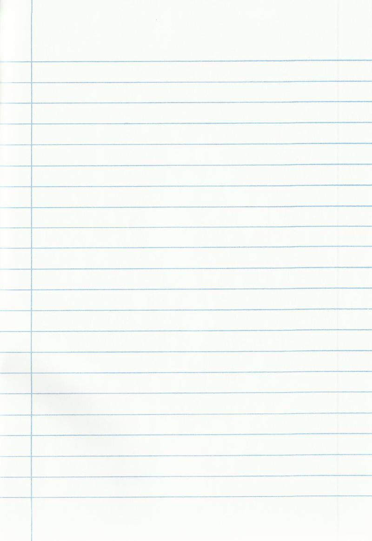 Notebook paper by oddinarie on DeviantArt