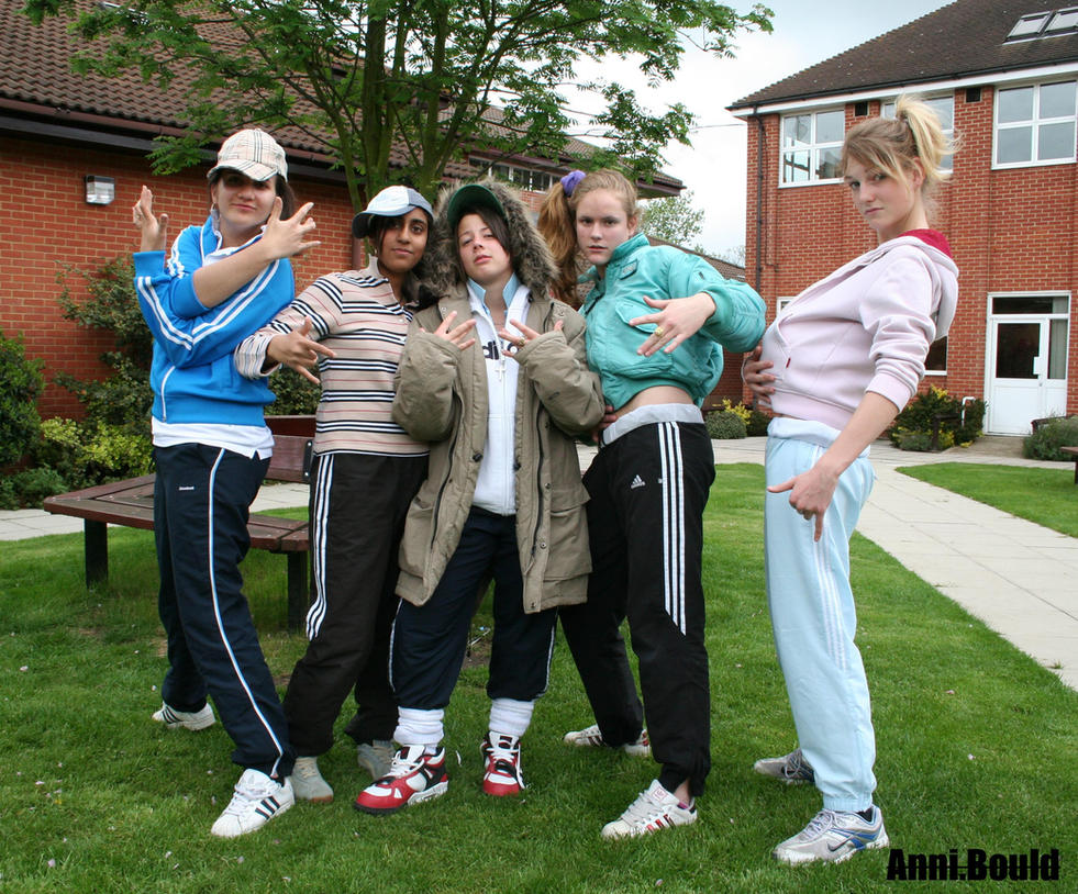Blonde common council estate whore - 2 part 5