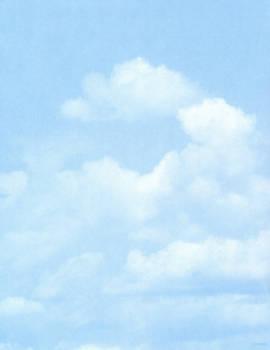 Sky paper texture