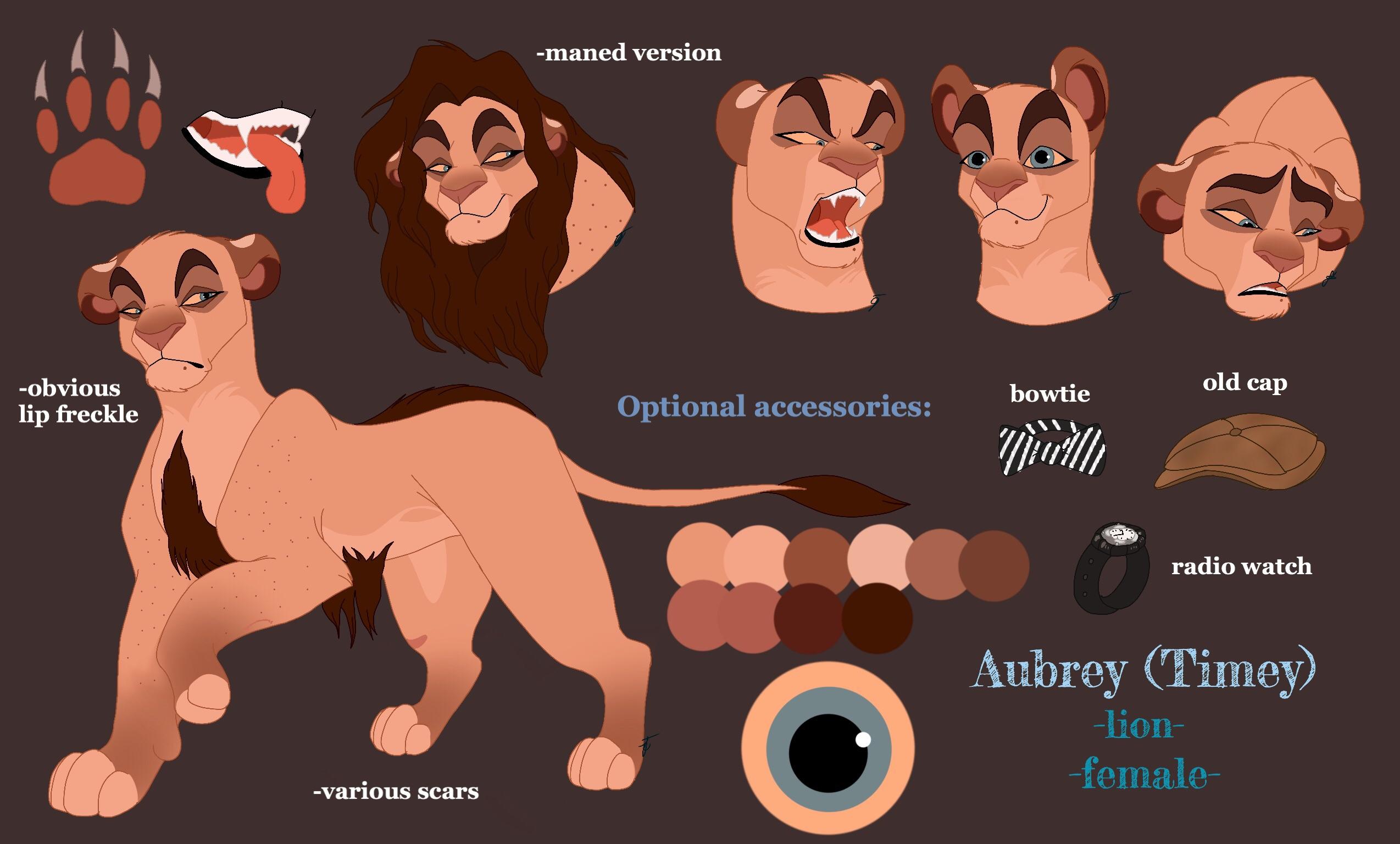 Scar Lion Color Nature