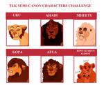 TLK- Semi- Canon Character Challenge