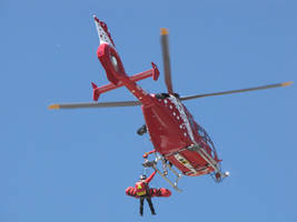 Emergency helicopter by AidanAsha