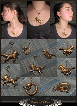Loki's Children Jewelry Set