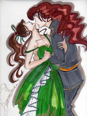 Sailor Jupiter And Nephrite Nephrite and Jupiter s...
