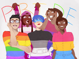 OC: Pride by sidesofthe-samecoin