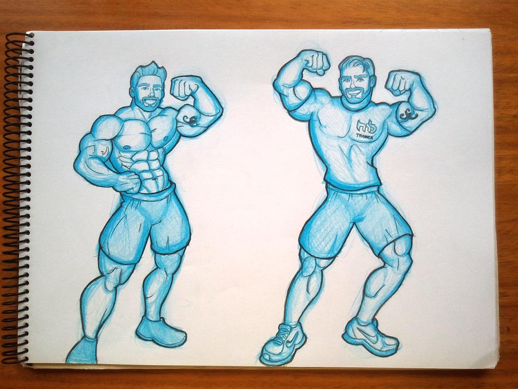 Martin Sketchs by JPGArt