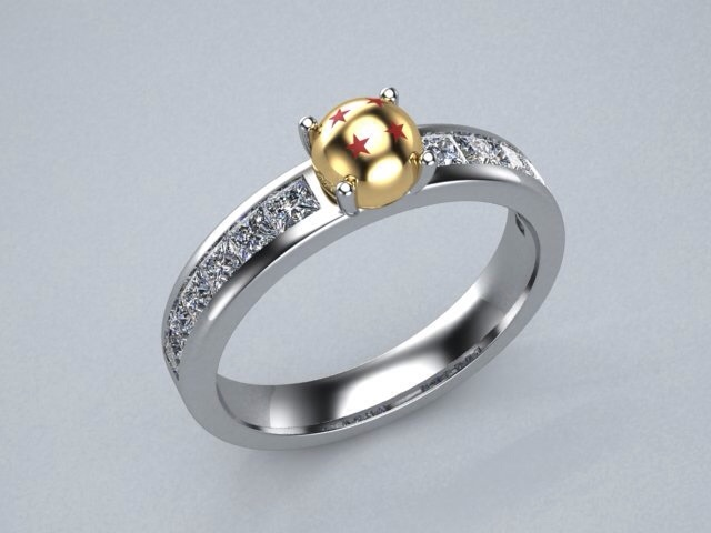 dragon ball z wedding ring z engagement ring concept by lupusk9 on deviantart 3676