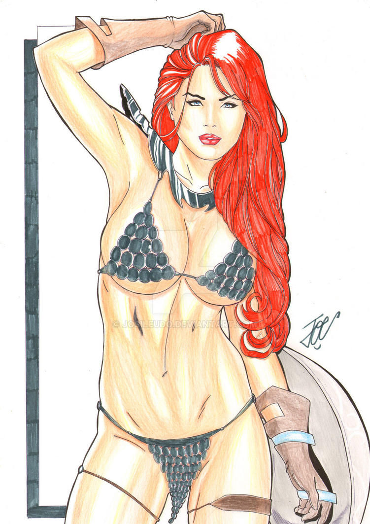 Red Sonja Sexy by josileudo