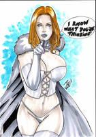 Emma Frost- by josileudo