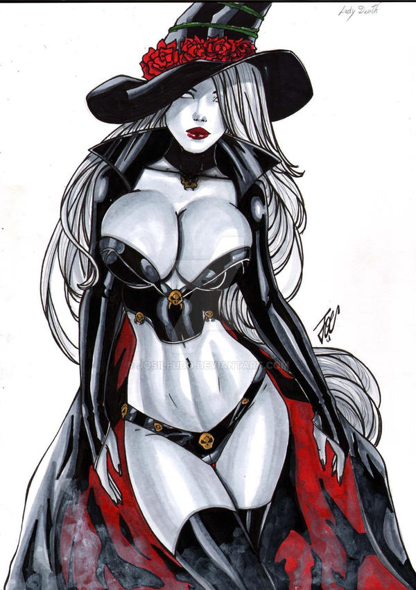Lady Death., by josileudo