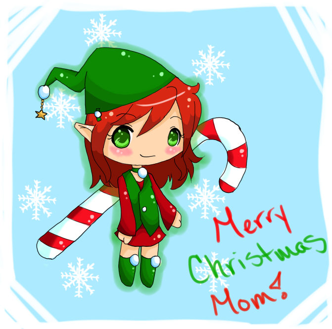 merry christmas mom by jedec