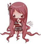 :- Red Kimono -: