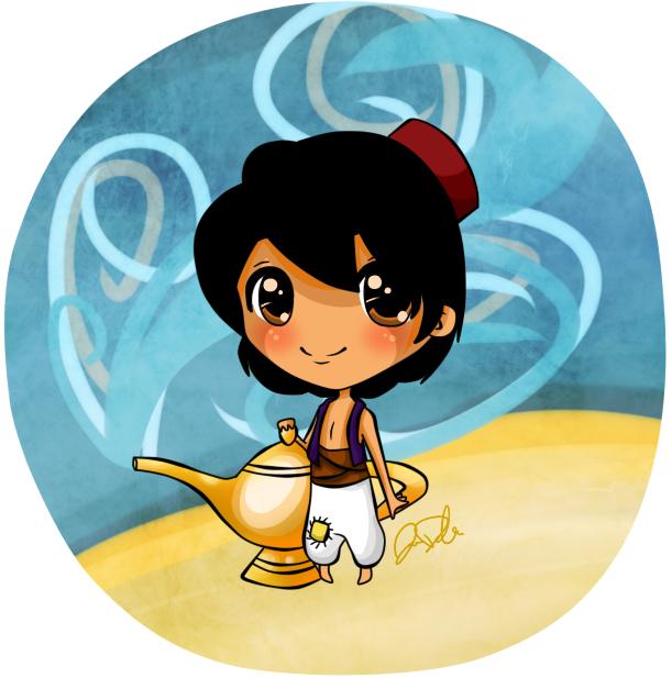 Chibi Aladdin by jedec
