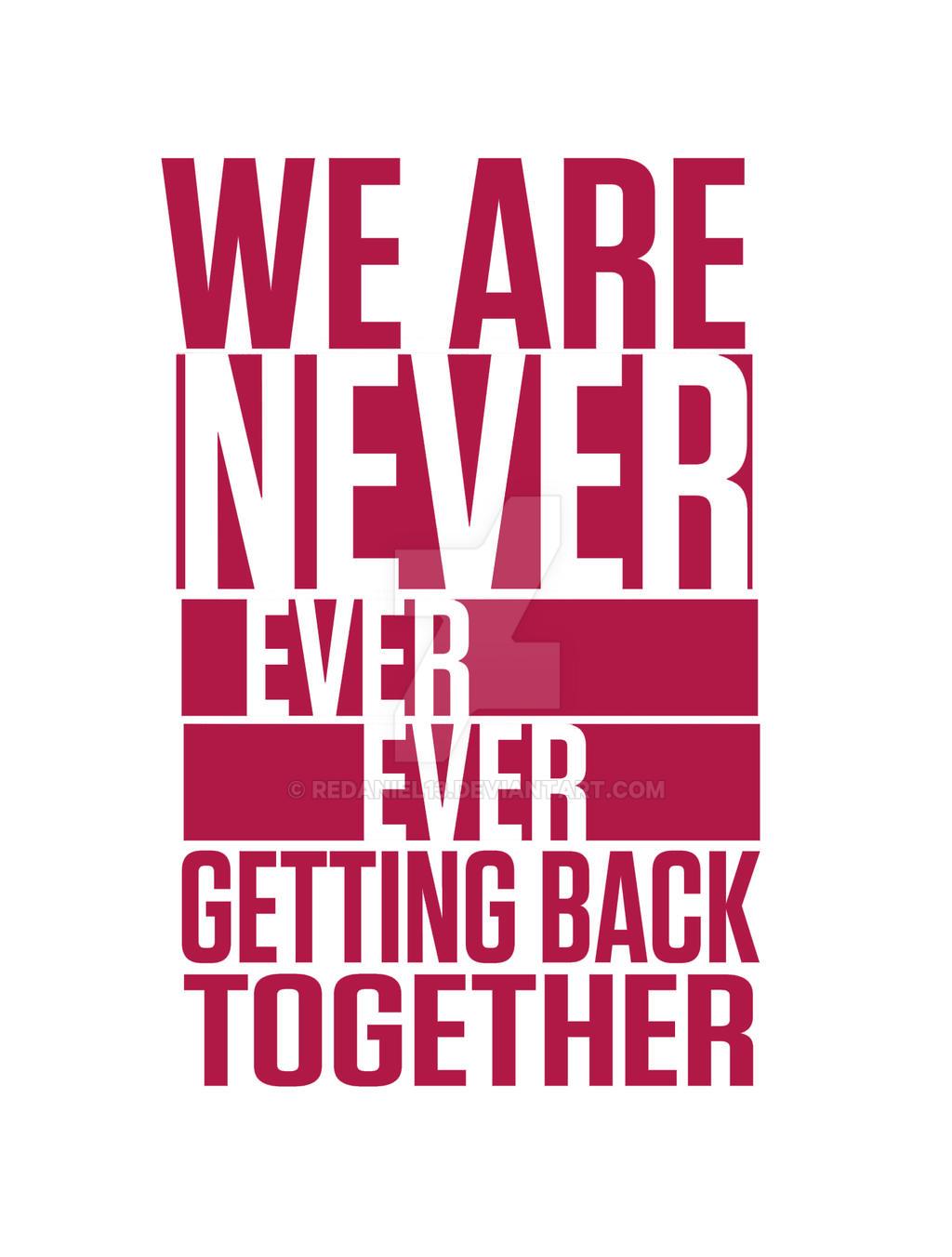 can we ever get back together