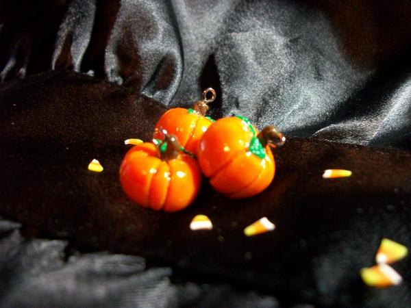 Fall Pumpkin Charms by ScelestaNix