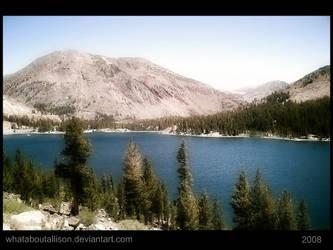Mountainous Lake by WhatAboutALLISON