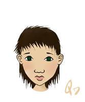 Brunette by quixoticduck