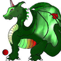 Pixel Dragon by quixoticduck