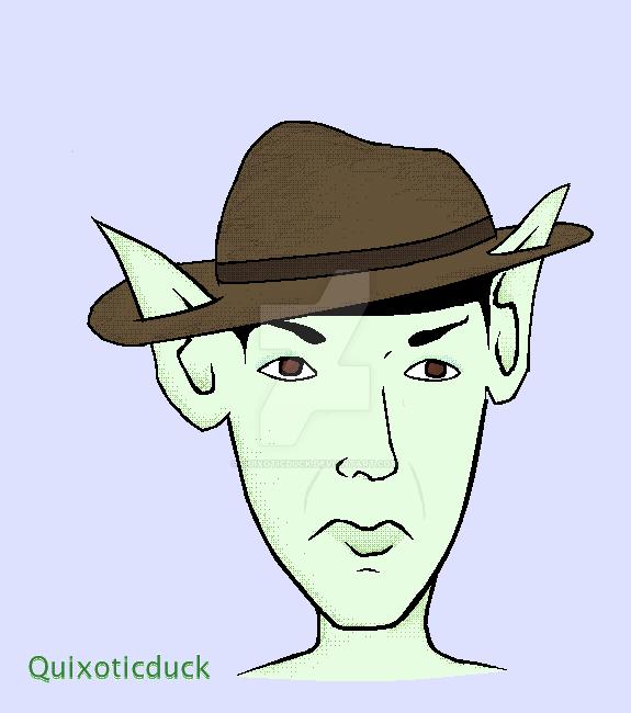Spock - birthday request by quixoticduck