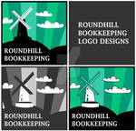 Logo Designs - Roundhill Bookkeeping - quad