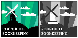 Logo Designs - Roundhill Bookkeeping