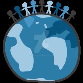Globe Vector Logo by quixoticduck