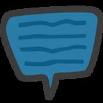 Speech Bubble Vector Logo