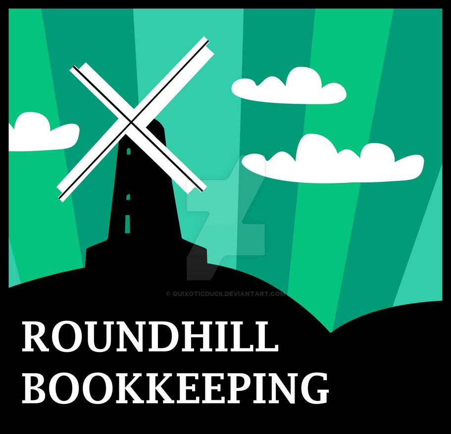 Windmill Logo Design - Colour by quixoticduck