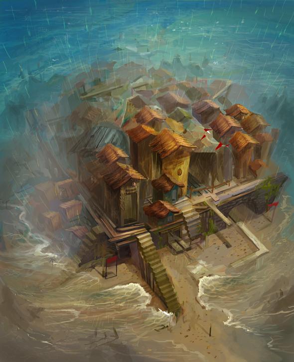 Half sunk storm by sarya