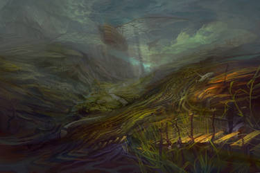 Valley by sarya