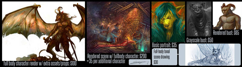 Commission prices by sarya