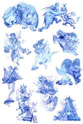 Little Nemo concept drawings