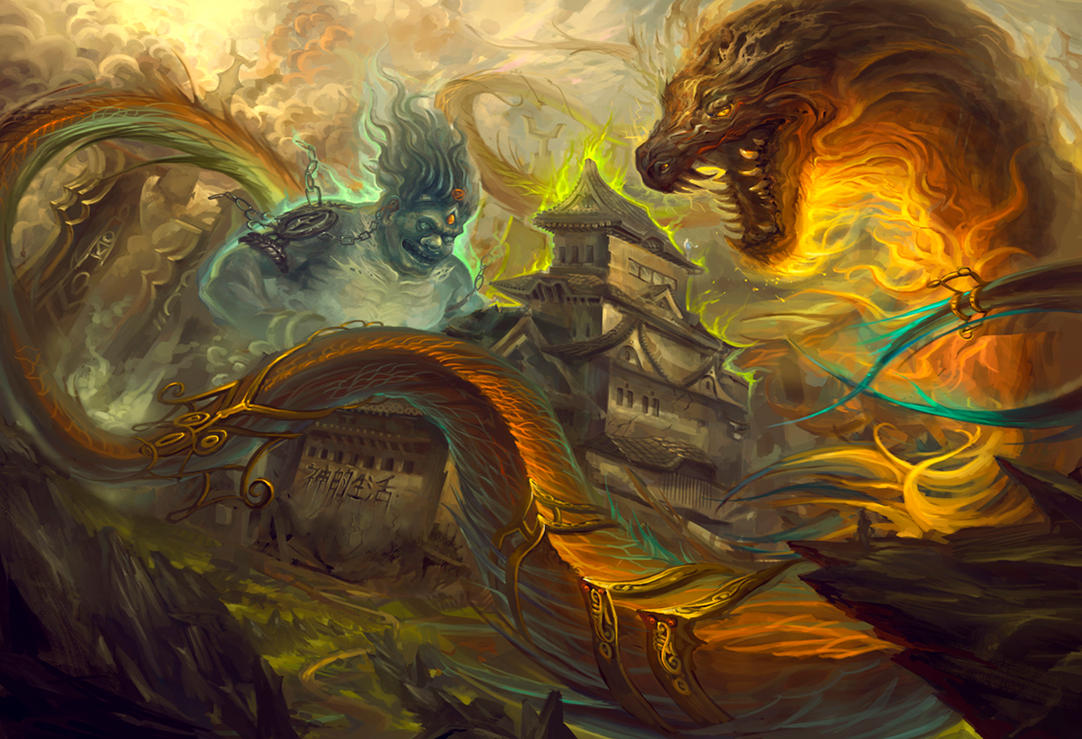 The Gods Live by sarya
