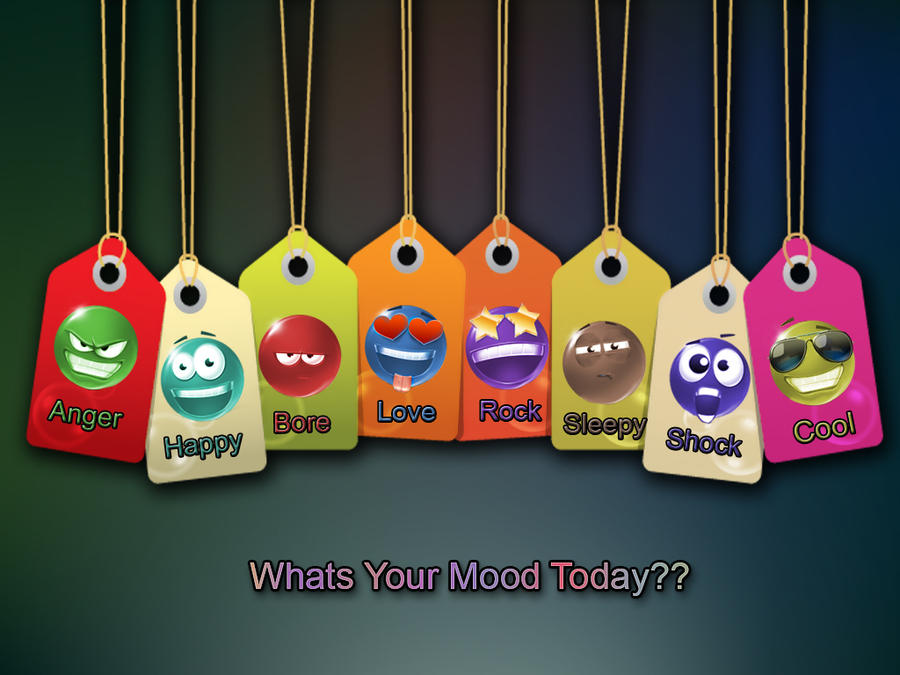DeviantArt: More Like What Is Your Mood Today??-Wallpaper by Uzairrj